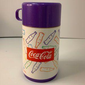 Vintage Aladdin 1996 Always Coca Cola Lunchbox The